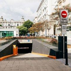 Отель Art Suites Santander парковка