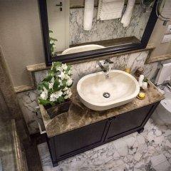 Отель Grand Amore Hotel and Spa Италия, Флоренция - 1 отзыв об отеле, цены и фото номеров - забронировать отель Grand Amore Hotel and Spa онлайн ванная фото 2