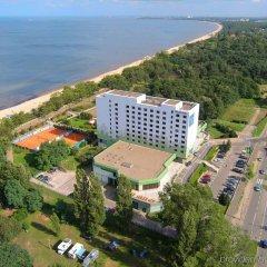 Отель Novotel Gdansk Marina пляж