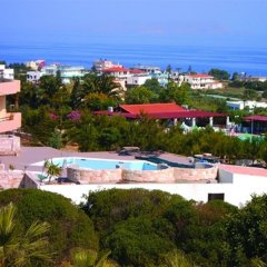 Hotel Galini Anissaras пляж