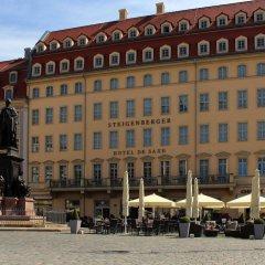 Steigenberger Hotel de Saxe пляж