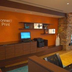 Отель Fairfield Inn & Suites by Marriott Columbus Airport США, Колумбус - отзывы, цены и фото номеров - забронировать отель Fairfield Inn & Suites by Marriott Columbus Airport онлайн интерьер отеля фото 2