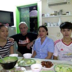 Отель Hanoi Central Homestay Ханой питание