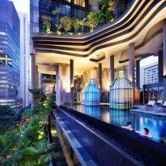 Отель PARKROYAL on Pickering Сингапур, Сингапур - 3 отзыва об отеле, цены и фото номеров - забронировать отель PARKROYAL on Pickering онлайн бассейн фото 2