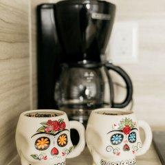 Отель Dewl Studios & Residences - The Kahlo Мексика, Плая-дель-Кармен - отзывы, цены и фото номеров - забронировать отель Dewl Studios & Residences - The Kahlo онлайн удобства в номере фото 2