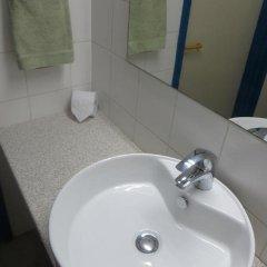 Отель Green Bungalows Hotel Apartments Кипр, Айя-Напа - 6 отзывов об отеле, цены и фото номеров - забронировать отель Green Bungalows Hotel Apartments онлайн ванная фото 2