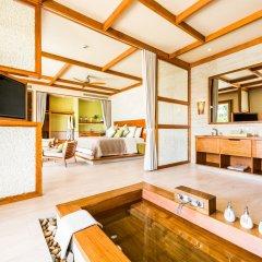 Отель Fusion Resort Phu Quoc Вьетнам, Остров Фукуок - отзывы, цены и фото номеров - забронировать отель Fusion Resort Phu Quoc онлайн ванная фото 2