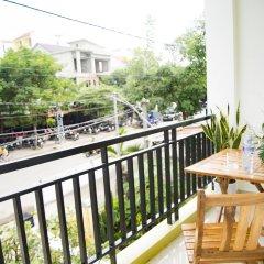 Отель Mi Kha Homestay балкон