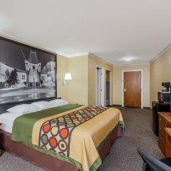 Отель Super 8 Downtown Лос-Анджелес комната для гостей