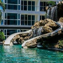 Отель Modernized Condo Seaview Central Pattaya бассейн