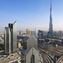 Отель Dusit Thani Dubai балкон