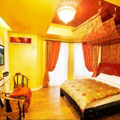 Отель KOREA QUALITY Elf Spa Resort Hotel Южная Корея, Пхёнчан - отзывы, цены и фото номеров - забронировать отель KOREA QUALITY Elf Spa Resort Hotel онлайн комната для гостей фото 3