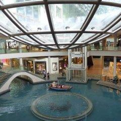 Отель Marina Bay Sands бассейн фото 3