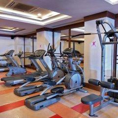 Отель Crystal Kemer Deluxe Resort And Spa Кемер фитнесс-зал