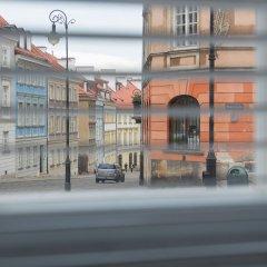 Апартаменты Adele Old Town Apartment Варшава гостиничный бар