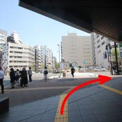 APA Hotel Hatchobori Shintomicho городской автобус