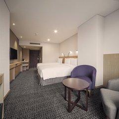 Отель Tmark Grand hotel Myeongdong Южная Корея, Сеул - отзывы, цены и фото номеров - забронировать отель Tmark Grand hotel Myeongdong онлайн комната для гостей фото 4