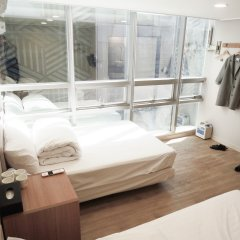 K-grand Hostel Myeongdong Сеул комната для гостей