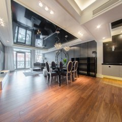Апартаменты Dom & House - Apartments Waterlane фитнесс-зал фото 4