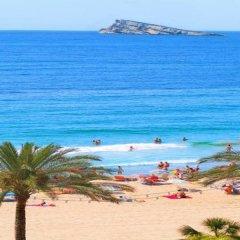 Отель Estudios RH Sol Испания, Пляж Леванте - отзывы, цены и фото номеров - забронировать отель Estudios RH Sol онлайн пляж