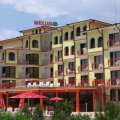 Отель Smolyan Болгария, Солнечный берег - отзывы, цены и фото номеров - забронировать отель Smolyan онлайн вид на фасад фото 2