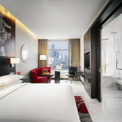 Отель Marriott Sukhumvit Бангкок комната для гостей фото 3