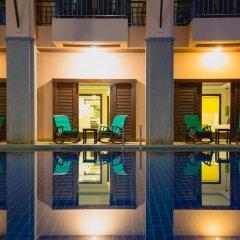Отель Thanthip Beach Resort бассейн