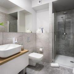Отель Liza Lux Apartments Old Town Польша, Познань - отзывы, цены и фото номеров - забронировать отель Liza Lux Apartments Old Town онлайн ванная