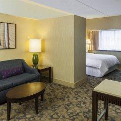 Отель Sheraton Lincoln Harbor Вихокен комната для гостей фото 3