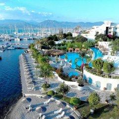 Yacht Classic Hotel - Boutique Class Турция, Гёчек - отзывы, цены и фото номеров - забронировать отель Yacht Classic Hotel - Boutique Class онлайн пляж фото 2