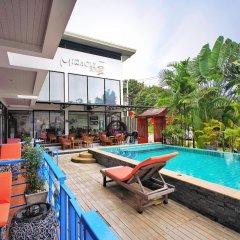 Отель Miracle House бассейн