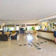 Gardenia Beach Hotel Турция, Окурджалар - 1 отзыв об отеле, цены и фото номеров - забронировать отель Gardenia Beach Hotel - All Inclusive онлайн интерьер отеля