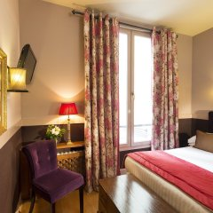 Отель Des Marronniers Париж комната для гостей фото 2