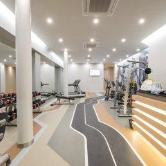 Отель Crest Resort & Pool Villas фитнесс-зал фото 3