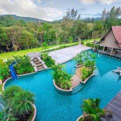 Отель Maikhao Palm Beach Resort бассейн