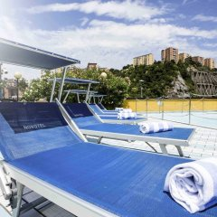 Отель Novotel Genova City бассейн