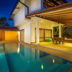 Отель Aditya Boutique Hotel Шри-Ланка, Катукурунда - отзывы, цены и фото номеров - забронировать отель Aditya Boutique Hotel онлайн бассейн фото 2