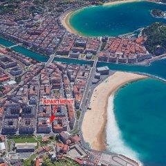 Отель Sausalito - Iberorent Apartments Испания, Сан-Себастьян - отзывы, цены и фото номеров - забронировать отель Sausalito - Iberorent Apartments онлайн пляж