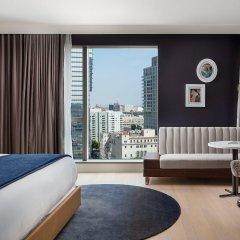 Отель Indigo Los Angeles Downtown, an IHG Hotel США, Лос-Анджелес - отзывы, цены и фото номеров - забронировать отель Indigo Los Angeles Downtown, an IHG Hotel онлайн комната для гостей фото 2