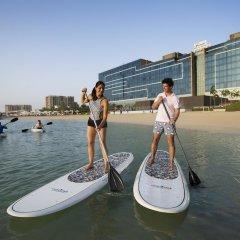 Отель Fairmont Bab Al Bahr фитнесс-зал фото 2