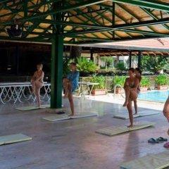 Отель Larissa Park Beldibi фитнесс-зал
