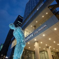 Отель Lotte City Hotel Myeongdong Южная Корея, Сеул - 2 отзыва об отеле, цены и фото номеров - забронировать отель Lotte City Hotel Myeongdong онлайн вид на фасад