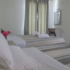 Отель Ninos On The Beach Корфу комната для гостей фото 3