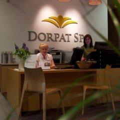 Отель Dorpat Hotel Эстония, Тарту - отзывы, цены и фото номеров - забронировать отель Dorpat Hotel онлайн интерьер отеля фото 2