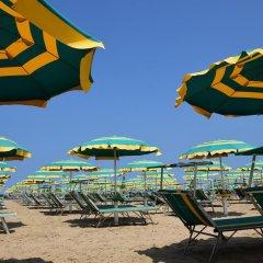 Hotel Houston Римини пляж