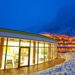 Отель Feuerstein Nature Family Resort Горнолыжный курорт Ортлер бассейн