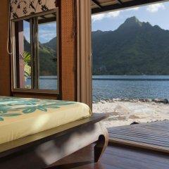 Отель Robinson's Cove Villas - Deluxe Wallis Villa Французская Полинезия, Муреа - отзывы, цены и фото номеров - забронировать отель Robinson's Cove Villas - Deluxe Wallis Villa онлайн комната для гостей фото 3