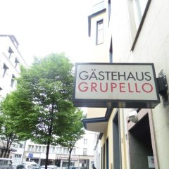Отель Gästehaus Grupello городской автобус