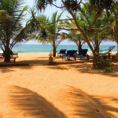 Отель Oasey Beach Hotel Шри-Ланка, Индурува - 2 отзыва об отеле, цены и фото номеров - забронировать отель Oasey Beach Hotel онлайн пляж фото 2