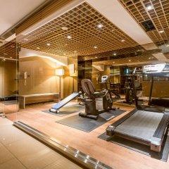 Отель Green World Taipei Station фитнесс-зал